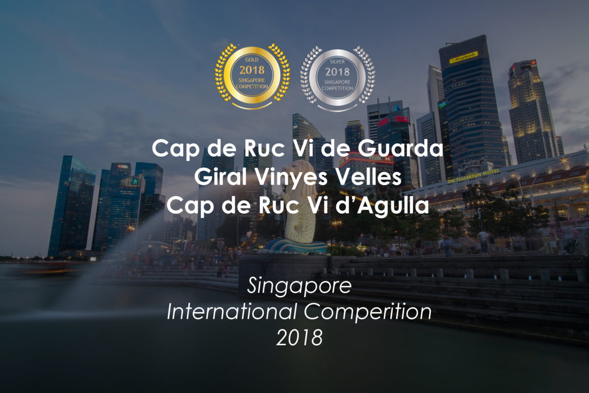 Tres vins del Celler Ronadelles amb medalla a la Singapore International Competition 2018